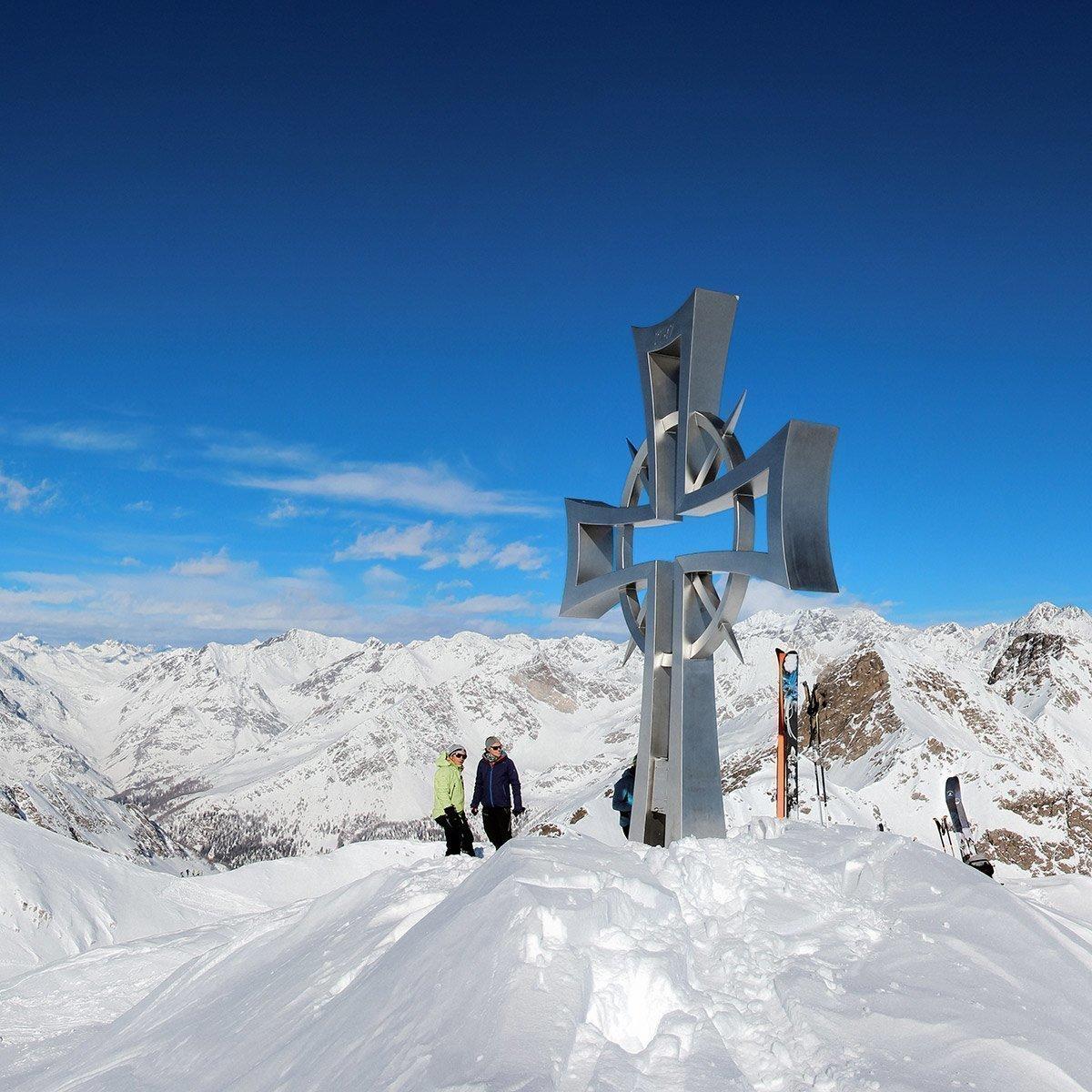 Skitouren Pfitschertal & Winterurlaub Südtirol & Schneeschuhwandern